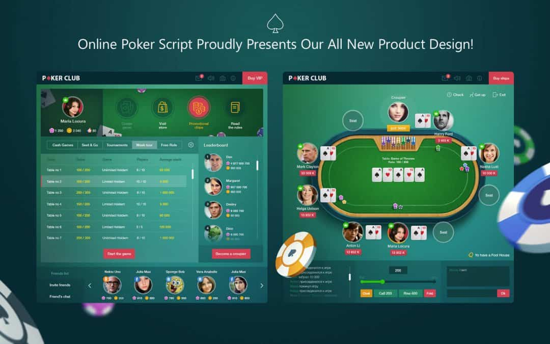 Poker Game Design – Amazing New OPS Design